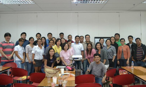 Attendees of the Investing 101 Workshop Batch 1