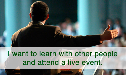 Attend a Live Event