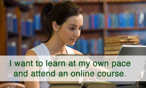 Attend an Online Course